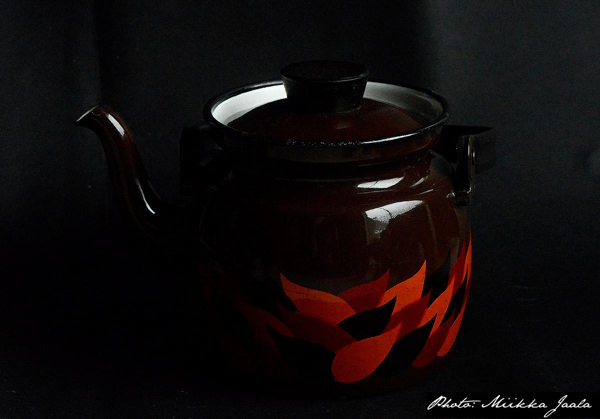 Finel Liekki, kahvipannu – enamel coffee pan