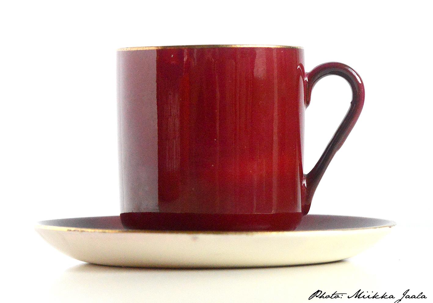 Arabia OC -kahvikuppi. Pieni mutta pippurinen – coffee cup model OC